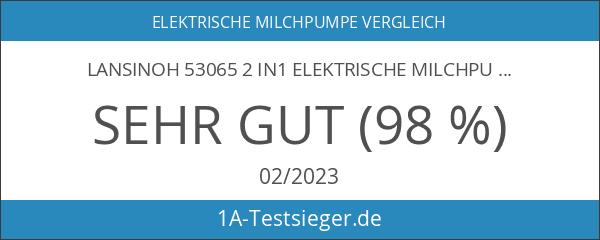Lansinoh 53065 2 in1 Elektrische Milchpumpe