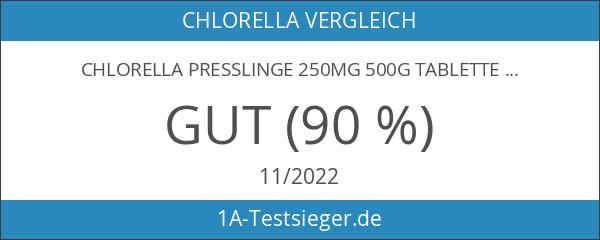 Chlorella Presslinge 250mg 500g Tabletten - rückstandskontrolliert