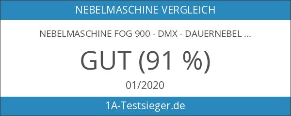 Nebelmaschine FOG 900 DMX - Dauernebel - nur 5 Sek.