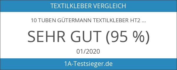 10 Tuben GÜTERMANN Textilkleber HT2