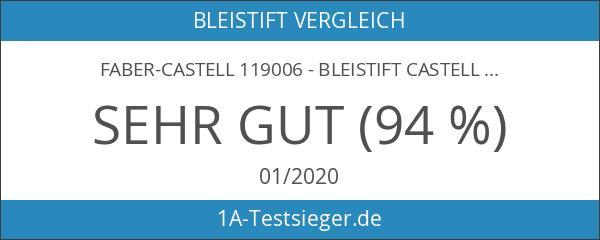 Faber-Castell 119006 - Bleistift Castell 9000