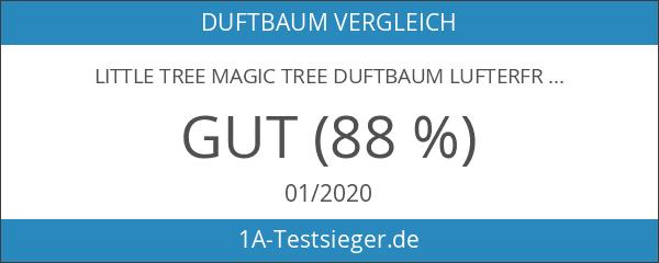 LITTLE TREE MAGIC TREE Duftbaum Lufterfrischer fürs Auto Schwarz Eis