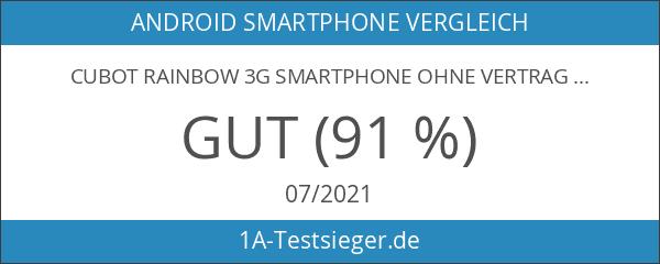 Cubot Rainbow 3G Smartphone Ohne Vertrag Handy mit GMS Google