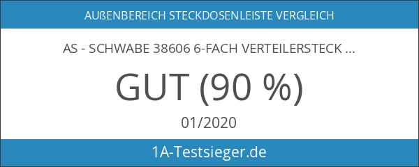 as - Schwabe 38606 6-fach Verteilersteckdose