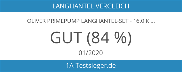 OLIVER PrimePump Langhantel-Set - 16.0 kg