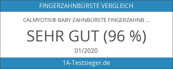CalMyotis® Baby Zahnbürste Fingerzahnbürste inkl. Aufbewahrungsbox - für Zähneputzen und