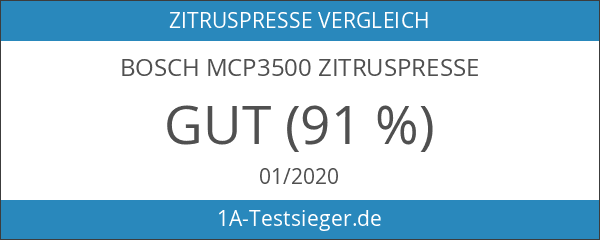 Bosch MCP3500 Zitruspresse