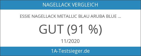 essie Nagellack Metallic Blau aruba blue Nr. 92