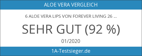 6 Aloe Vera Lips von Forever Living 26