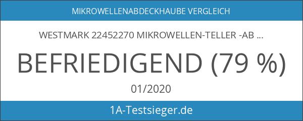Westmark 22452270 Mikrowellen-Teller -Abdeckhaube