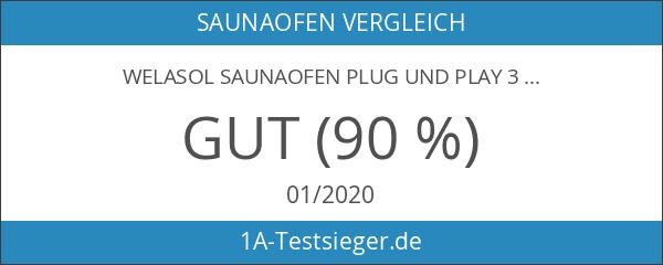 WelaSol Saunaofen Plug und Play 3