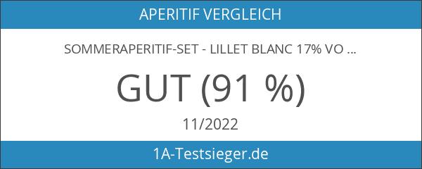 Sommeraperitif-Set - Lillet Blanc 17% Vol. 0