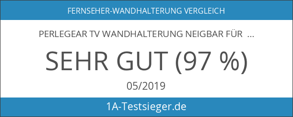 Perlegear TV Wandhalterung Neigbar Für 32-70 Zoll TVs - Hält