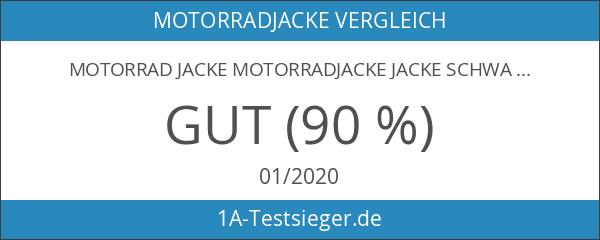 Motorrad Jacke Motorradjacke Jacke Schwarz Gr. XXXL