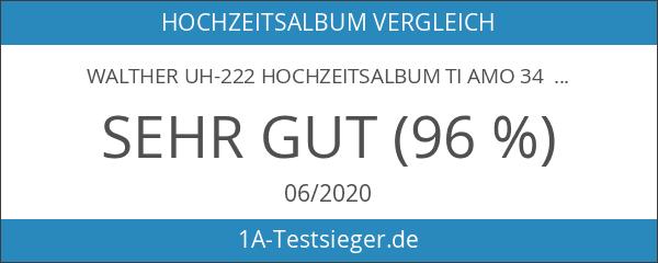Walther UH-222 Hochzeitsalbum Ti amo 34 x 33 cm