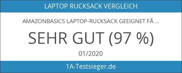 AmazonBasics Laptop-Rucksack geeignet für 38