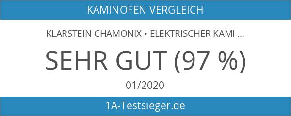 Klarstein Chamonix • elektrischer Kamin • E-Kamin • Kaminofen •