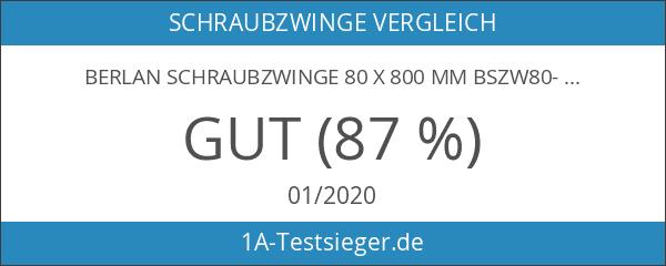 Berlan Schraubzwinge 80 x 800 mm BSZW80-800