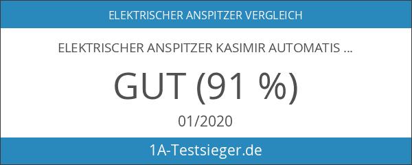 Elektrischer Anspitzer Kasimir Automatischer Kleiner Batteriebetriebener Profi Dicke Dünne Buntstift-Spitzer