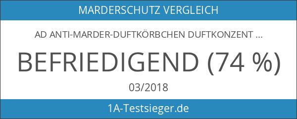 """AD Anti-Marder-Duftkörbchen Duftkonzentrat auf Tierfettbasis. Riecht nach """"gefährlichem Feind"""". Große"""