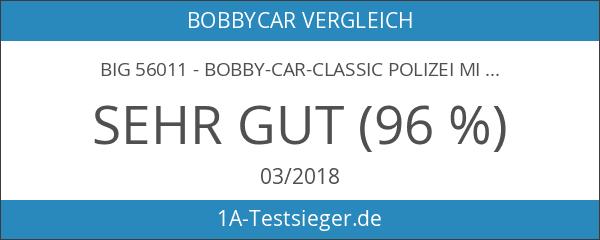 Big 56011 - Bobby-Car-Classic Polizei mit Light