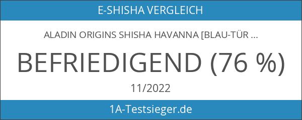 Aladin Origins Shisha Havanna [blau-türkis