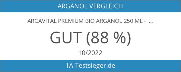 ARGAVITAL Premium BIO Arganöl 250 ml - aus gerösteten Samen