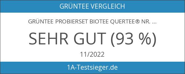 Grüntee Probierset Biotee Quertee® Nr. 4 - 4 x 50g