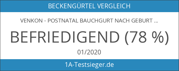 VENKON - Postnatal Bauchgurt nach Geburt Bauchweg-Gürtel Abdominal Elastische Bauchbandage