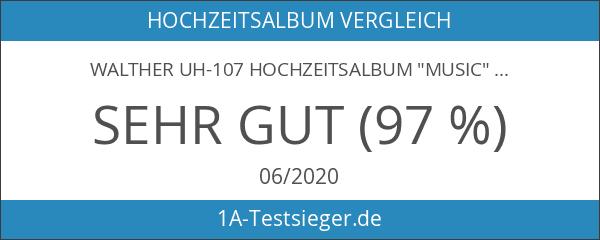 """Walther UH-107 Hochzeitsalbum """"Music"""""""