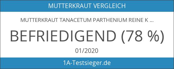 Mutterkraut Tanacetum parthenium reine Kräuter Kapseln 100 X 500mg