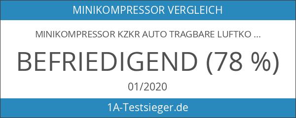 Minikompressor KZKR Auto Tragbare Luftkompressorpumpe 12V Voreingestellt Digitale Reifenfüller Eingebauter