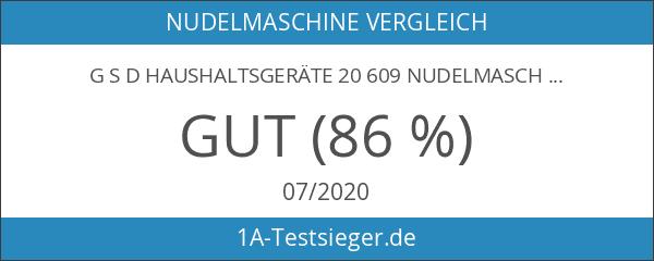 """G S D Haushaltsgeräte 20 609 Nudelmaschine """"Titania"""""""