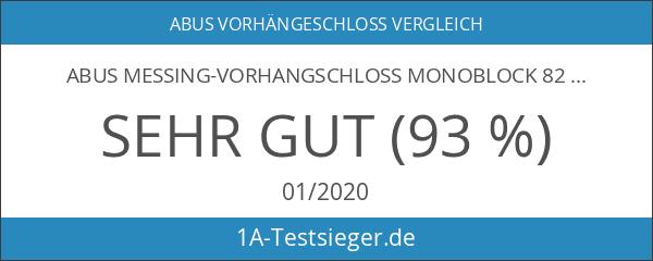 ABUS Messing-Vorhangschloss Monoblock 82