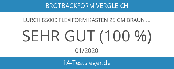 Lurch 85000 FlexiForm Kasten 25 cm braun