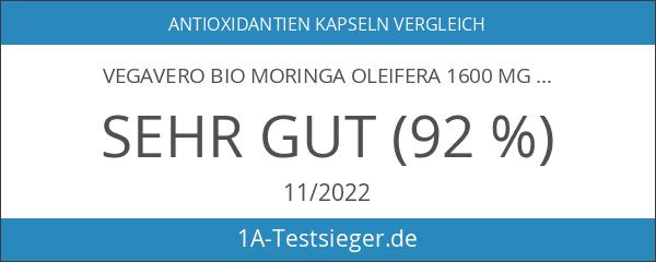 Vegavero Bio Moringa Oleifera 1600 mg