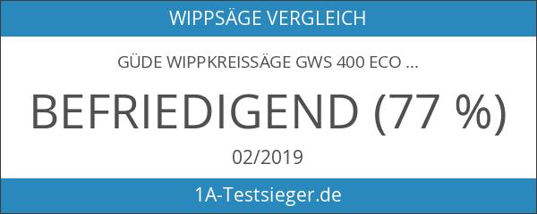 GÜDE Wippkreissäge GWS 400 ECO