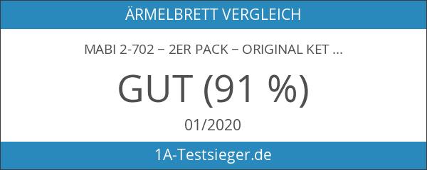 Mabi 2-702 − 2er Pack − Original Kettler Alu-Bügeltischbezüge 138