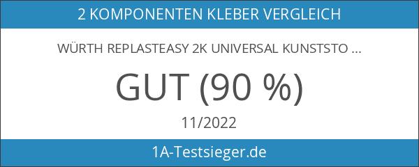 WÜRTH REPLASTeasy 2K Universal Kunststoffkleber 50 ml