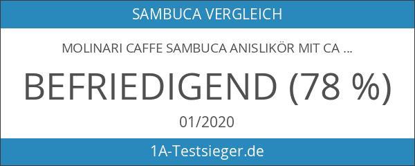 Molinari Caffe Sambuca Anislikör mit Caffé