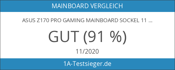 Asus Z170 Pro Gaming Mainboard Sockel 1151