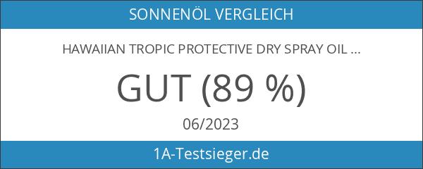 Hawaiian Tropic Protective Dry Spray Oil LSF 8
