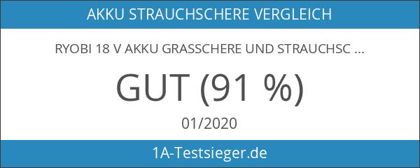 RYOBI 18 V Akku Grasschere und Strauchschere OGS-1821 - inklusive