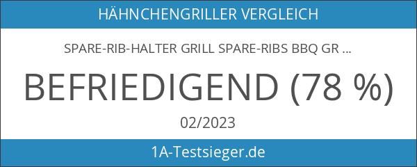 Spare-Rib-Halter Grill Spare-Ribs BBQ Grill-Halter Smoker Rippchen-Ständer Rack