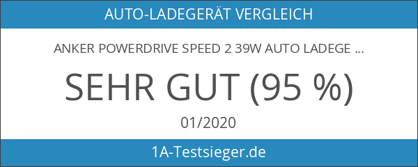 Anker PowerDrive Speed 2 39W Auto Ladegerät