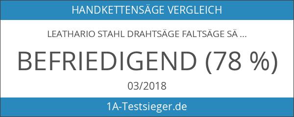 Leathario Stahl Drahtsäge Faltsäge Sägedraht Handkettensäge Multi-Säge-Draht Zugsäge Fingersäge Outdoor