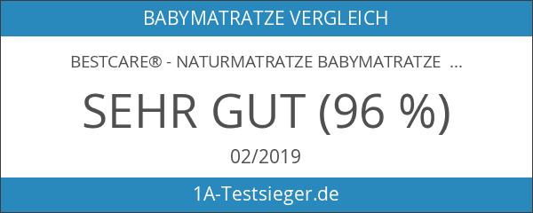 BestCare® - Naturmatratze Babymatratze Kindermatratze aus Pflanzenfasern