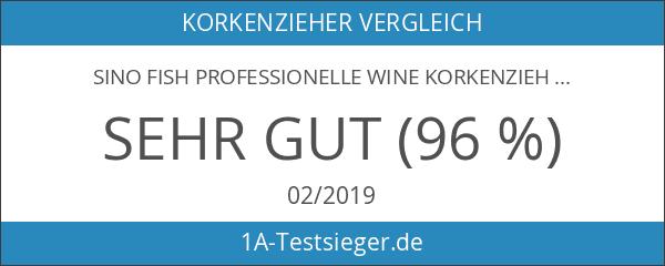 Sino Fish Professionelle Wine Korkenzieher & Folienschneider