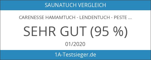 Carenesse Hamamtuch - Lendentuch - Pestemal - Saunatuch - Handtuch