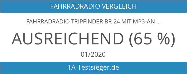 Fahrradradio Tripfinder BR 24 mit MP3-Anschluss